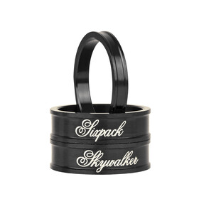 "Sixpack Skywalker Spacer 1 1/8"" black"